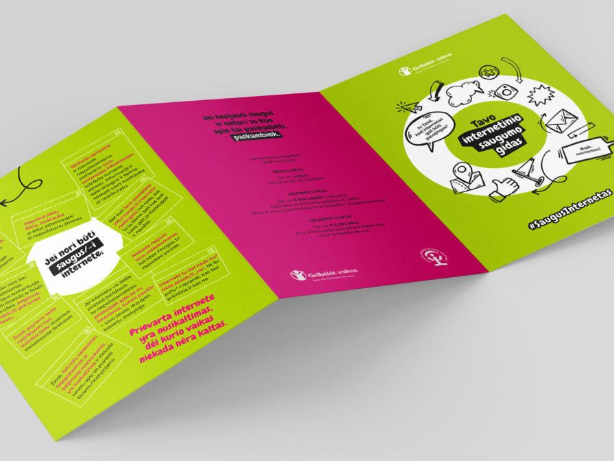 Save the Children leaflet. Teens.